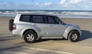 Mitsubishi Pajero - Hire 4WD Noosa