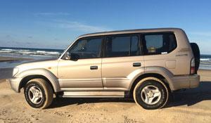 Noosa2fraser - 4WD Hire - Prado